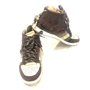 Le Coq Sportif Diamond MC Indian High Top Sneakers